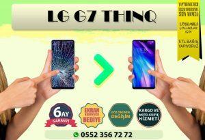 LG G7 Thing Ekran Değişimi