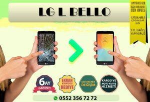 LG L BELLO Ekran Değişimi