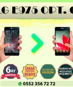lg e975 optimus g ekran değişimi ve ekran tamiri fiyatı kadıköy cep dünyası