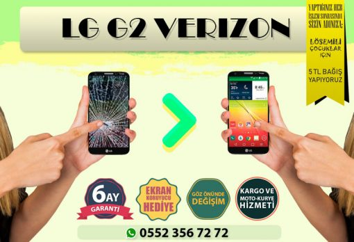 LG G2 VERİZON EKRAN DEĞİŞİMİ VE EKRAN TAMİRİ FİYATI KADIKÖY CEP DÜNYASI