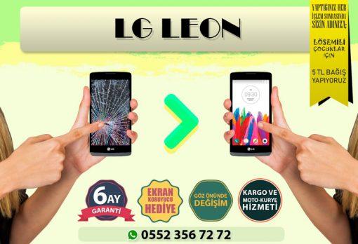 lg leon ekran değişimi ve ekran tamiri fiyatı kadıköy cep dünyası