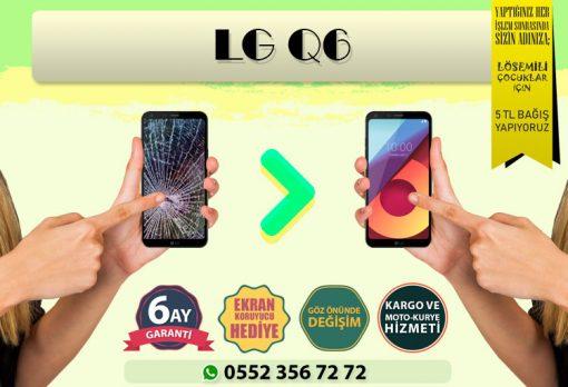 LG Q6 EKRAN DEĞİŞİMİ VE EKRAN TAMİRİ FİYATI KADIKÖY CEP DÜNYASI