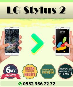 lg stylus 2 ekran değişimi ve ekran tamiri fiyatı kadıköy cep dünyası